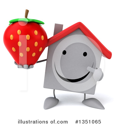 Strawberry Clipart #1351065 by Julos