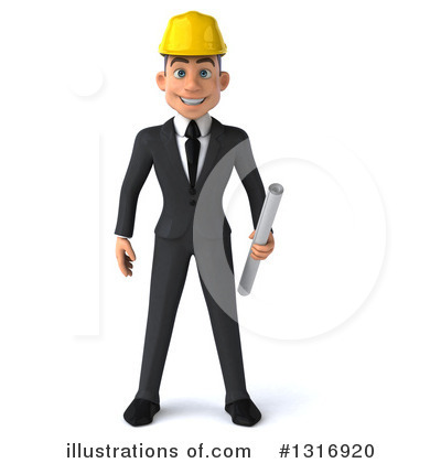 Architect Clipart #1316920 by Julos