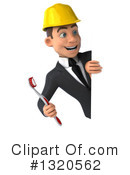 White Male Architect Clipart #1320562 by Julos