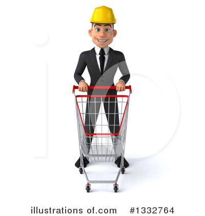 White Male Architect Clipart #1332764 by Julos