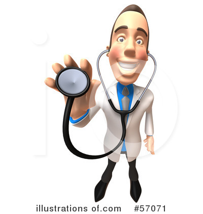 White Male Doctor Clipart #57071 by Julos