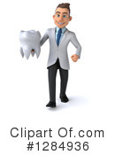 White Male Doctor Clipart #1284936 by Julos