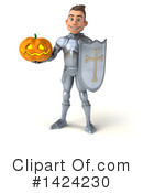 White Male Knight Clipart #1424230 by Julos