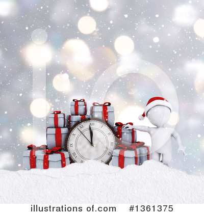 Clock Clipart #1361375 by KJ Pargeter