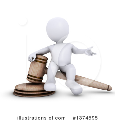 Gavel Clipart #1374595 by KJ Pargeter