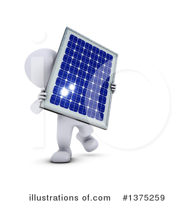 Solar Panel Clipart #1375259 by KJ Pargeter