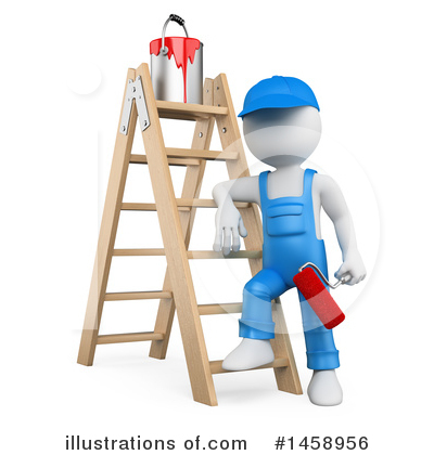 Painter Clipart #1458956 by Texelart