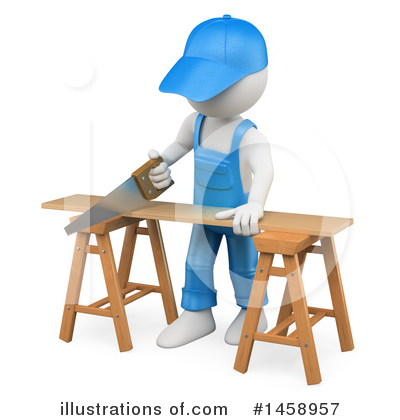 Carpenter Clipart #1458957 by Texelart