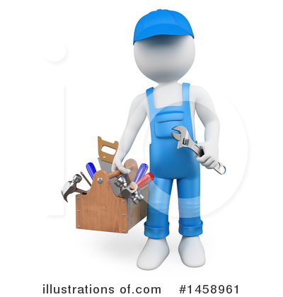 Carpenter Clipart #1458961 by Texelart