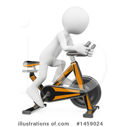 Spin Bike Clipart #1459024 by Texelart
