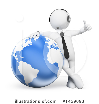 Royalty-Free (RF) White Man Clipart Illustration by Texelart - Stock Sample #1459093