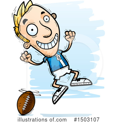 Football Clipart #1503107 by Cory Thoman