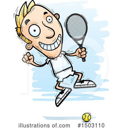 Tennis Clipart #1503110 by Cory Thoman