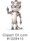 White Tiger Clipart #1228410 by Julos