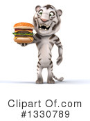 White Tiger Clipart #1330789 by Julos