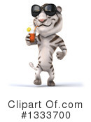 White Tiger Clipart #1333700 by Julos