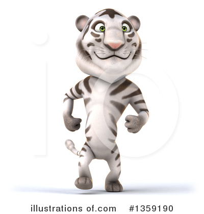 White Tiger Clipart #1359190 by Julos