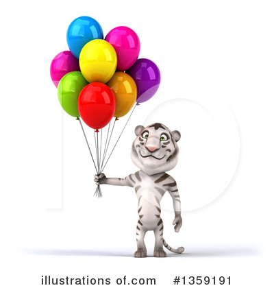 White Tiger Clipart #1359191 by Julos