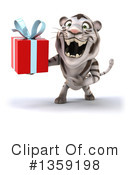 White Tiger Clipart #1359198 by Julos