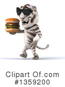 White Tiger Clipart #1359200 by Julos