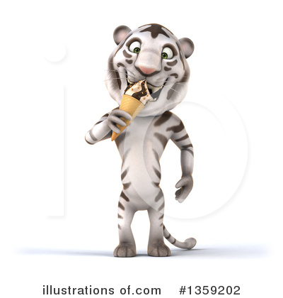White Tiger Clipart #1359202 by Julos