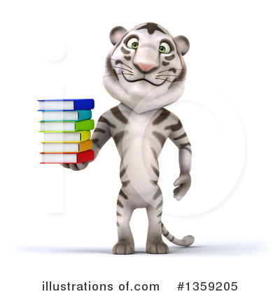 White Tiger Clipart #1359205 by Julos
