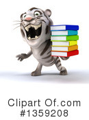 White Tiger Clipart #1359208 by Julos