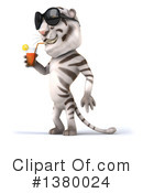 White Tiger Clipart #1380024 by Julos