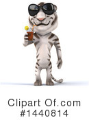 White Tiger Clipart #1440814 by Julos