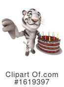 White Tiger Clipart #1619397 by Julos
