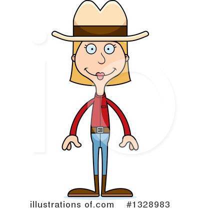 Cowgirl Clipart #1328983 by Cory Thoman