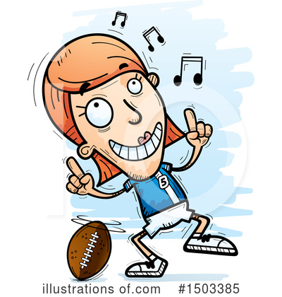 Football Clipart #1503385 by Cory Thoman
