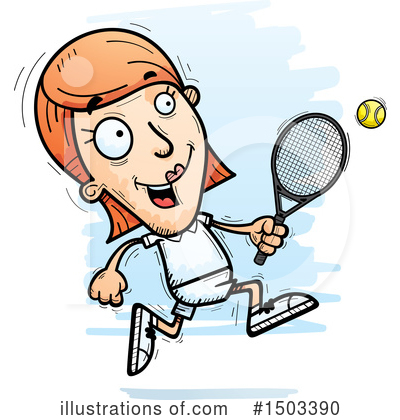 Tennis Clipart #1503390 by Cory Thoman