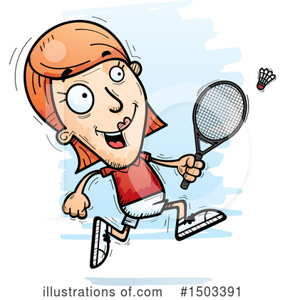 Badminton Clipart #1503391 by Cory Thoman