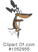 Royalty-Free (RF) Wiener Dog Clipart Illustration #1052955