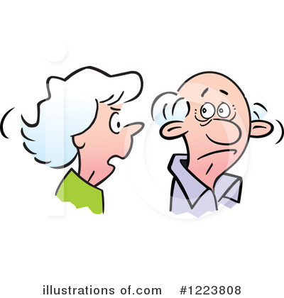 Couple Clipart #1223808 by Johnny Sajem