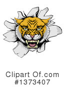 Wildcat Clipart #1373407 by AtStockIllustration