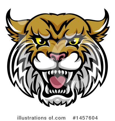 Bobcat Clipart #1457604 by AtStockIllustration