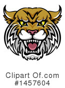 Wildcat Clipart #1457604 by AtStockIllustration