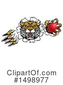 Royalty-Free (RF) Wildcat Clipart Illustration #1498977