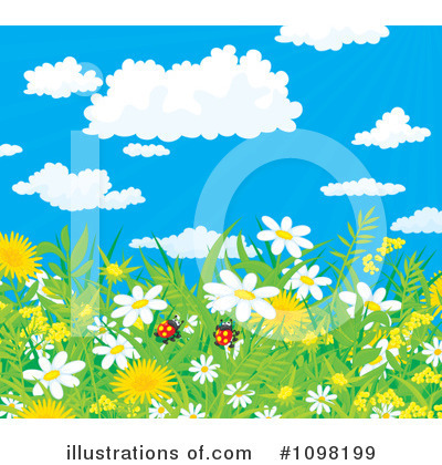 Dandelion Clipart #1098199 by Alex Bannykh