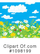 Royalty-Free (RF) Wildflowers Clipart Illustration #1098199