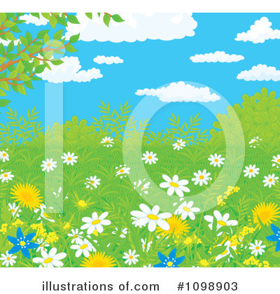Dandelion Clipart #1098903 by Alex Bannykh