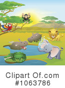 Royalty-Free (RF) wildlife Clipart Illustration #1063786