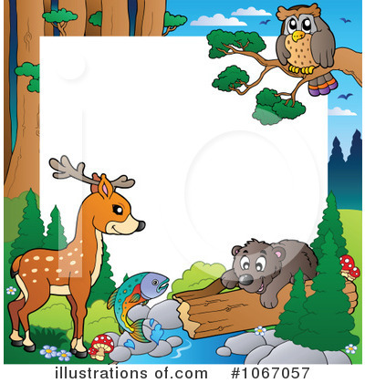 Royalty-Free (RF) Wildlife Clipart Illustration by visekart - Stock Sample #1067057