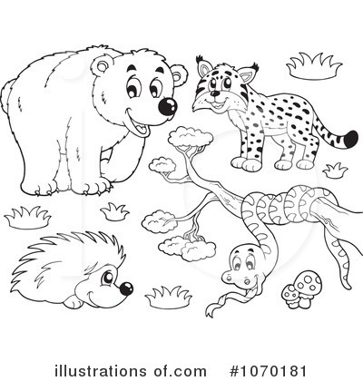 Hedgehog Clipart #1070181 by visekart