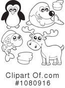 Royalty-Free (RF) Wildlife Clipart Illustration #1080916