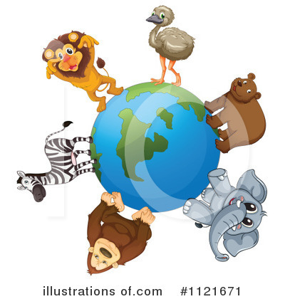 Elephant Clipart #1121671 by Graphics RF