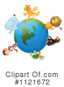 Royalty-Free (RF) Wildlife Clipart Illustration #1121672
