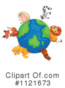 Royalty-Free (RF) Wildlife Clipart Illustration #1121673
